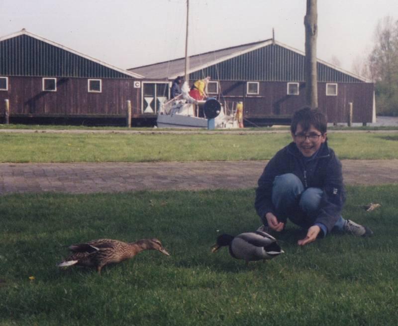 Les canards à Sneek